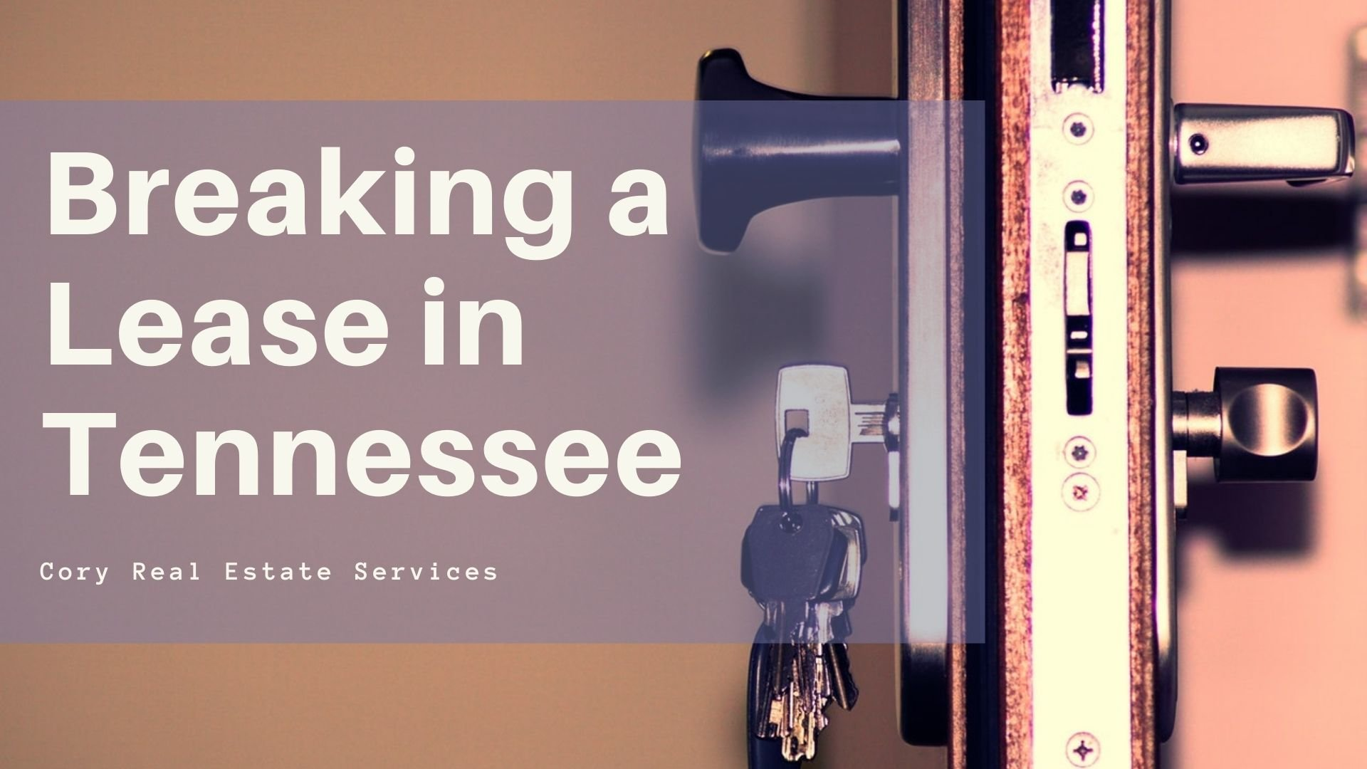 breaking a lease in tennessee